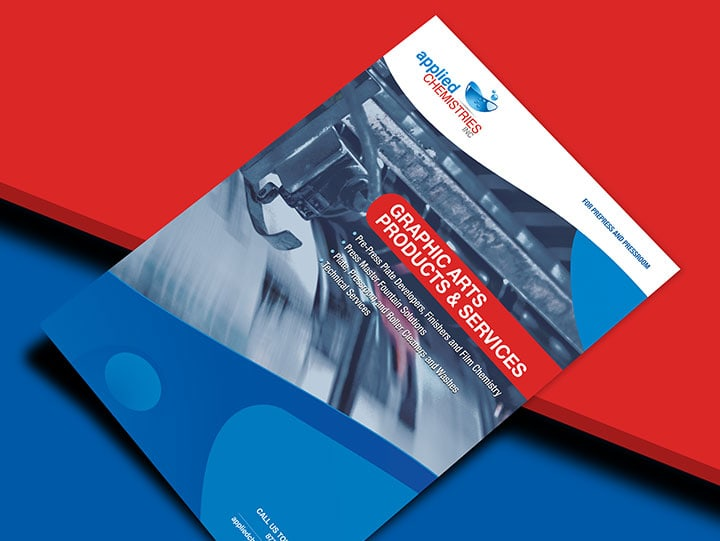 Applied Chemistries Brochure Design