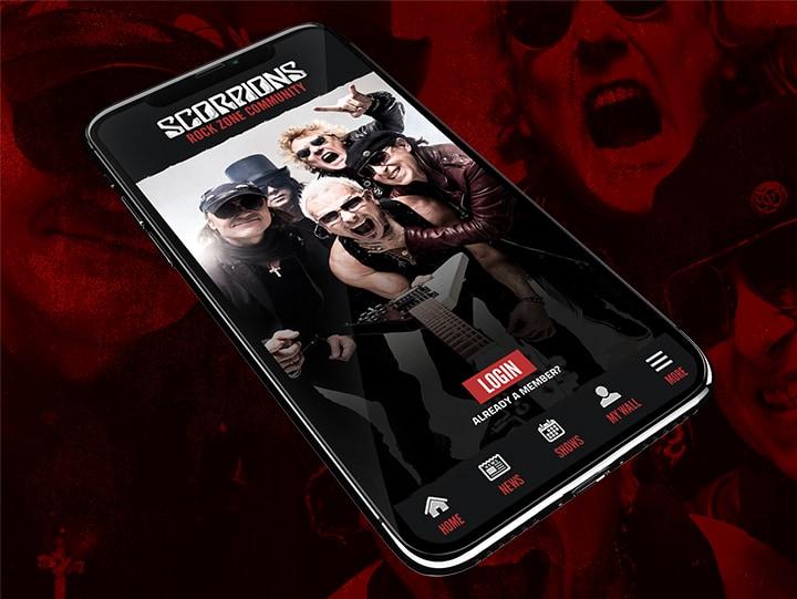 Scorpions App